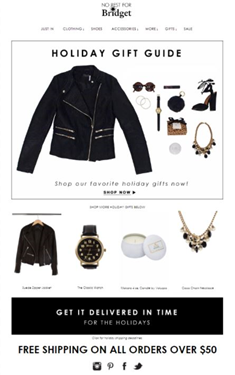 email shopping gaveguide