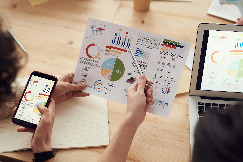 Dashboard sales KPI ecommerce